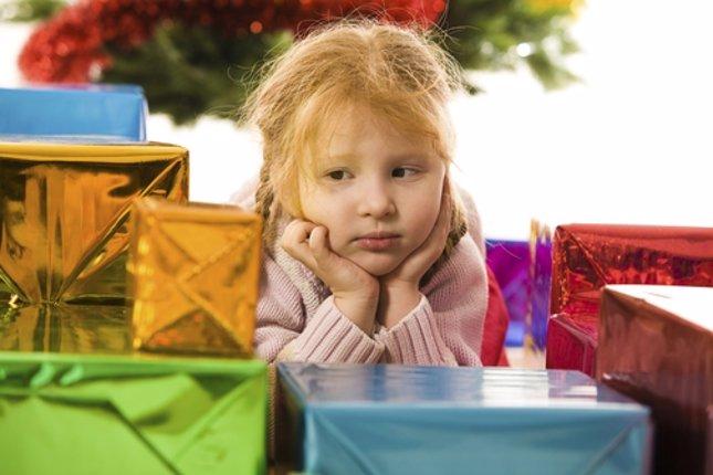 Los niños y el exceso de regalos