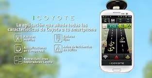 Coyote, nueva App de radares