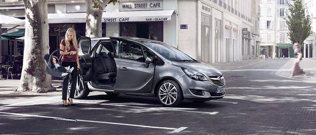 Opel Meriva, ideal para familias jóvenes