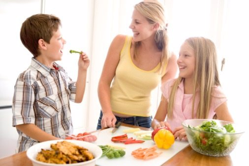 Niños y grasas: encontrar el punto medio