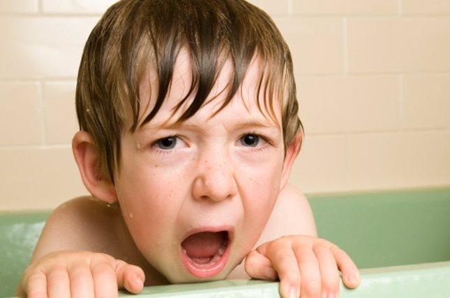 Higiene infantil: no le gusta asearse