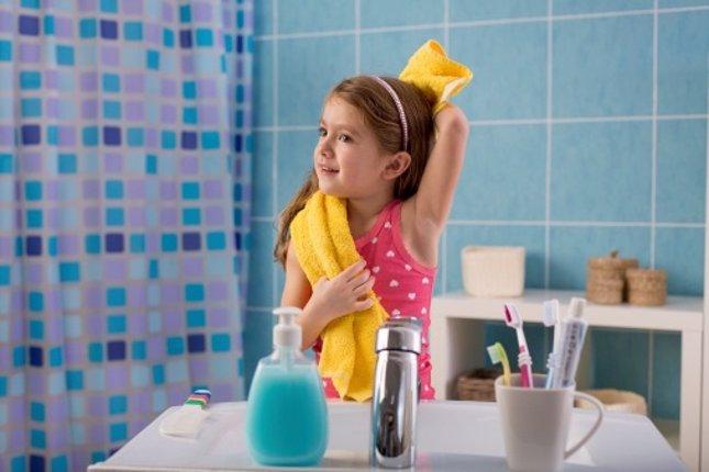 La higiene fomenta virtudes en los ni os for Objetos para banarse