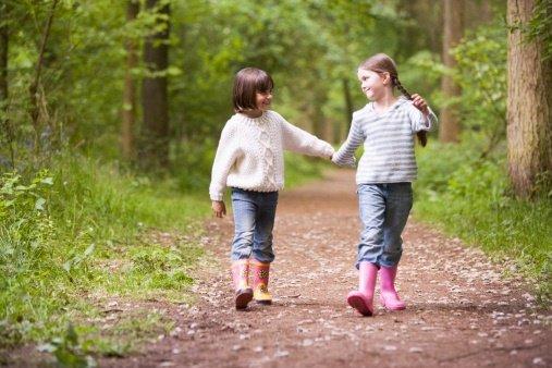Excursiones en familia por el bosque