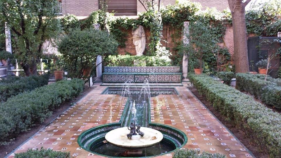 Jardines del Museo Sorolla en Madrid