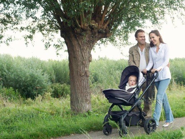 De paseo con mi bebé: cómo y cuándo