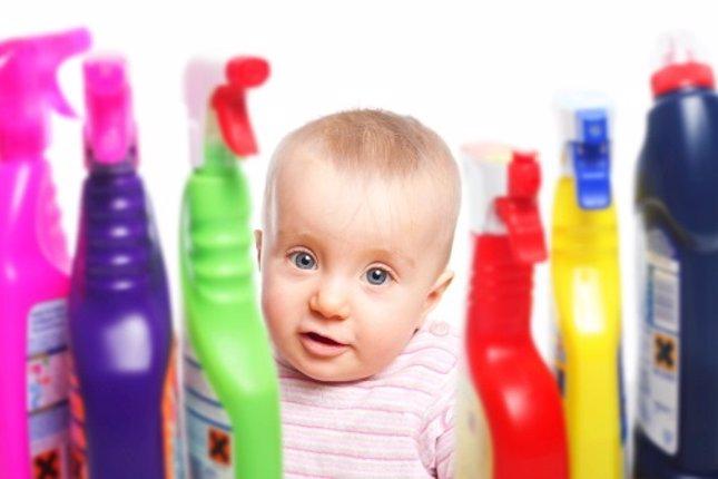 Intoxicaciones en bebés y niños