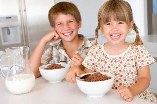 EL desayuno en la infancia