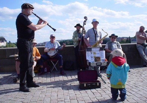 Concierto de música en la calle