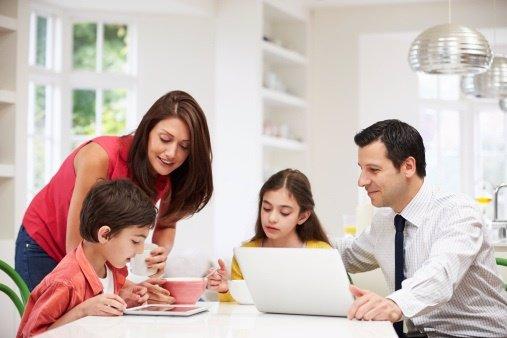 Conciliar la vida familiar con la vida laboral