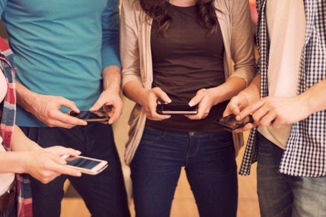 Los amigos de los adolescentes en las redes sociales