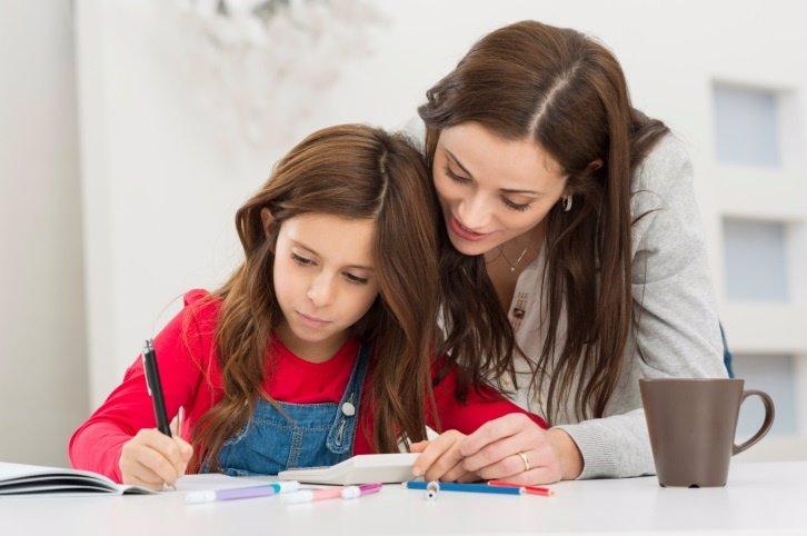 La ayuda de los padres es sinónimo de buenas notas