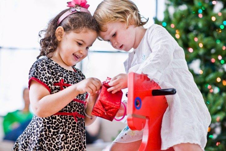 Los regalos de Navidad y la educación de los niños