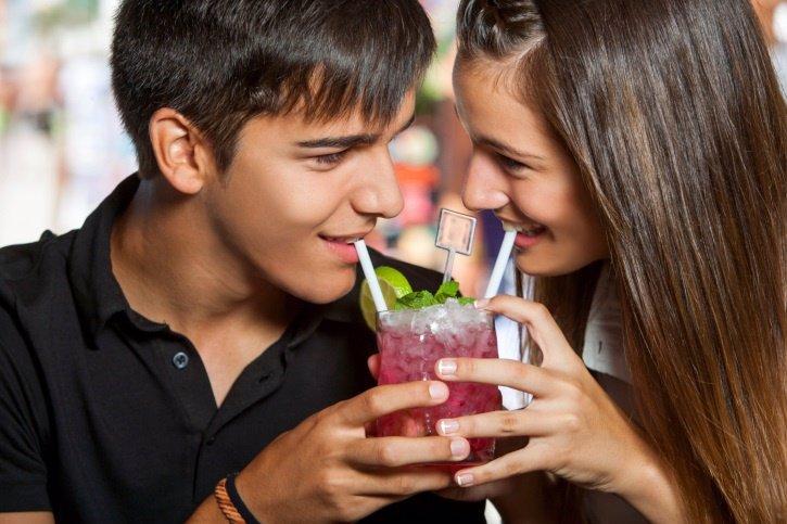 El consumo de alcohol entre adolescentes