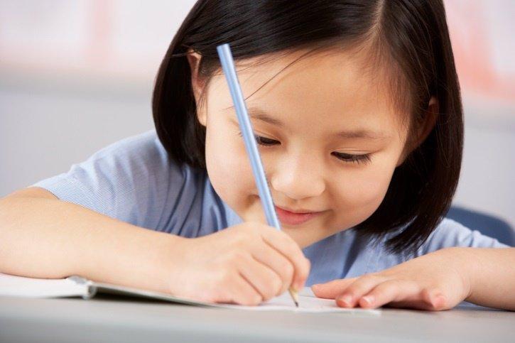 La expresión escrita de los niños