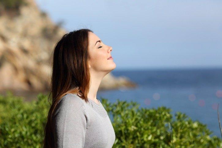 Cómo eliminar la ansiedad, respira hondo