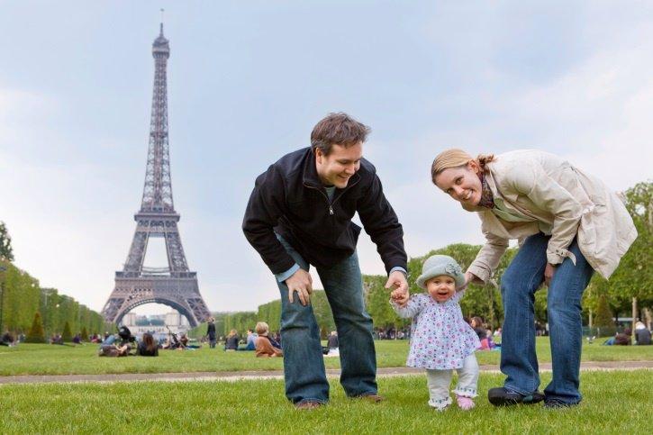 Paris con niños, Torre Eiffel
