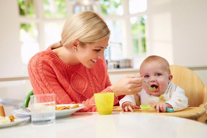 La papilla de frutas de tu bebé