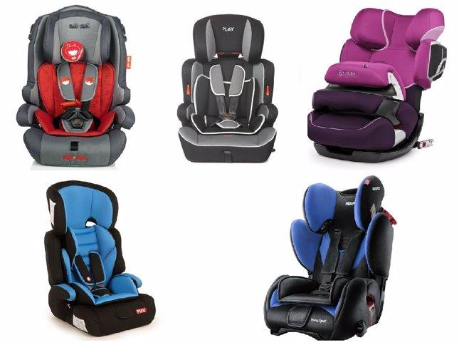 Cinco sillas de coche grupo 1 2 y 3 para viajar con tu hijo - Silla ninos coche ...