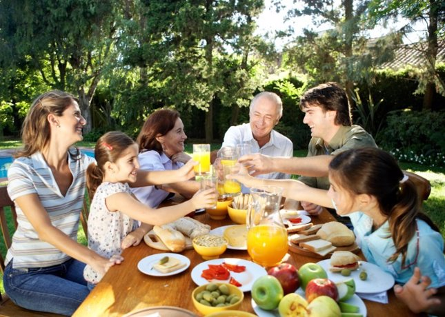 Alimentos, comida familiar
