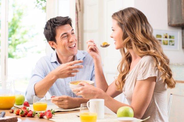 Desayunando juntos