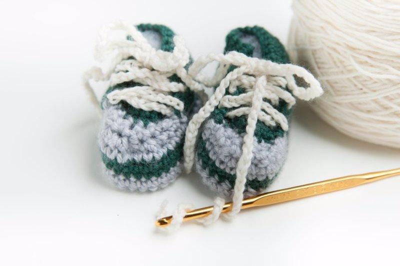 DIY: Vídeos para hacer patucos de bebé de ganchillo o crochet