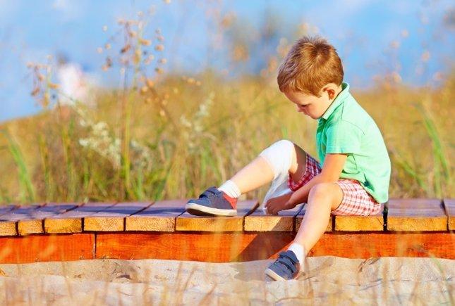 El dolor de rodillas en niños y adolescentes
