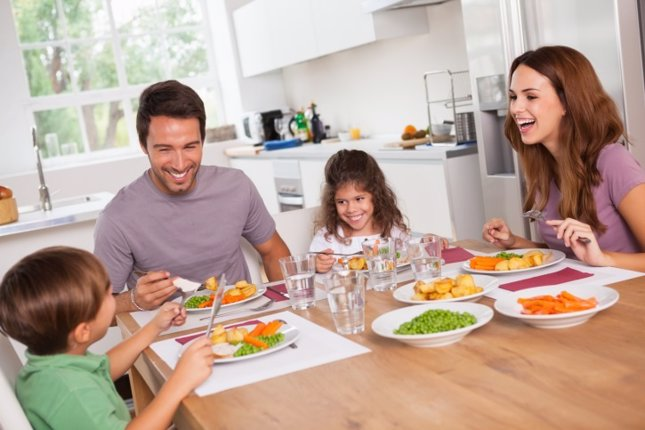 Beneficios de cenar en familia