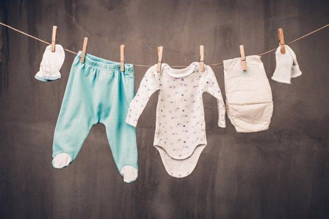 Lavar pañales de tela. Colada, ropa de bebé