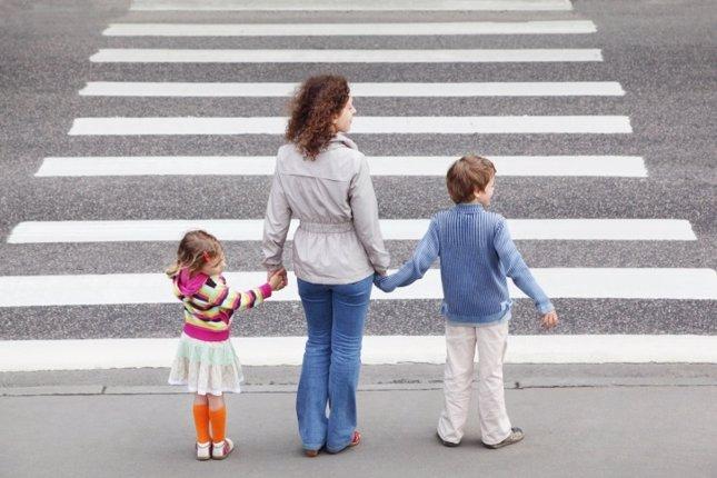 Educación vial, cruzar la calle