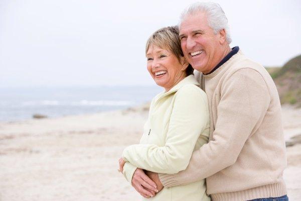 La felicidad tras años de matrimonio