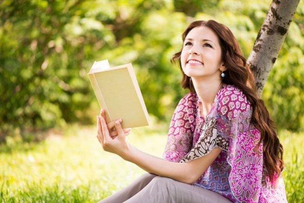 Mujer leyendo