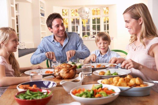 Familia comida