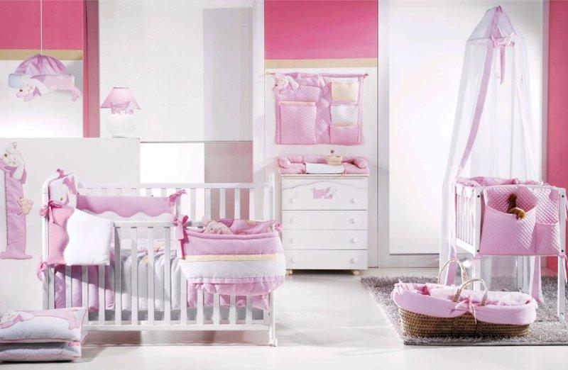 10 accesorios y tiles para las habitaciones de beb for Cuartos de ninas modernos