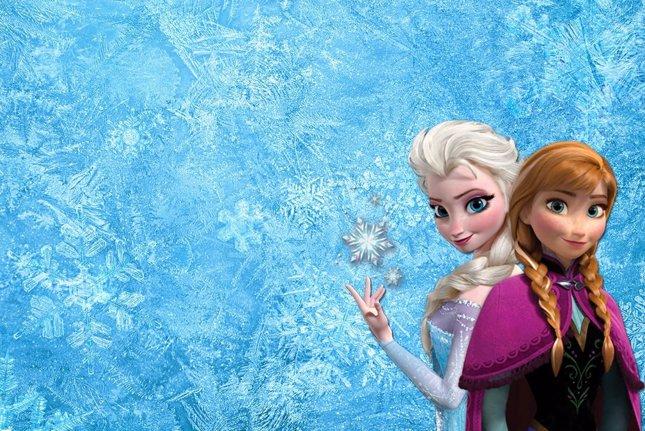 Elsa y Anna de Frozen