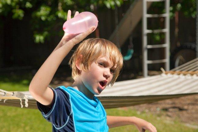 Juegos de agua para el verano de los niños