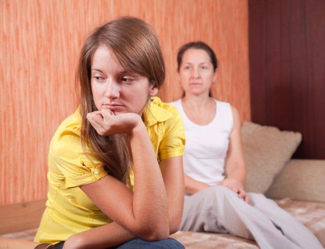 Adolescente y madre