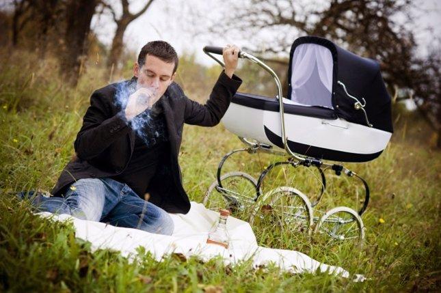 Padre fumador