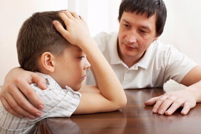Padre preocupado