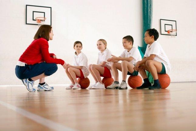 Educación física en el colegio
