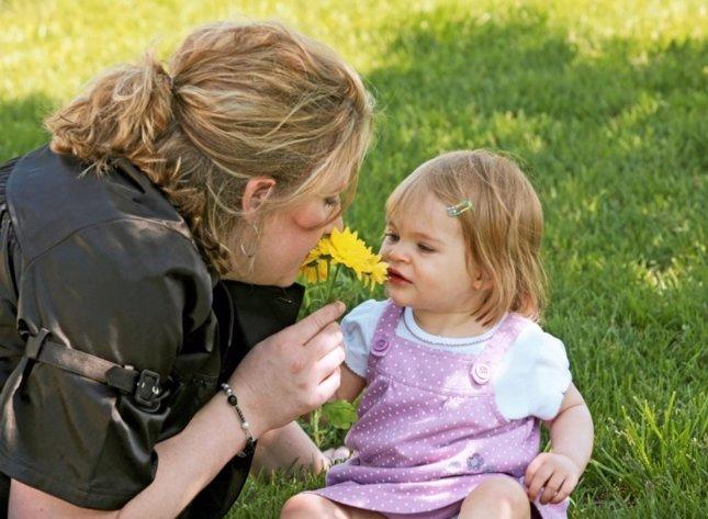 La estimulación olfativa del bebé