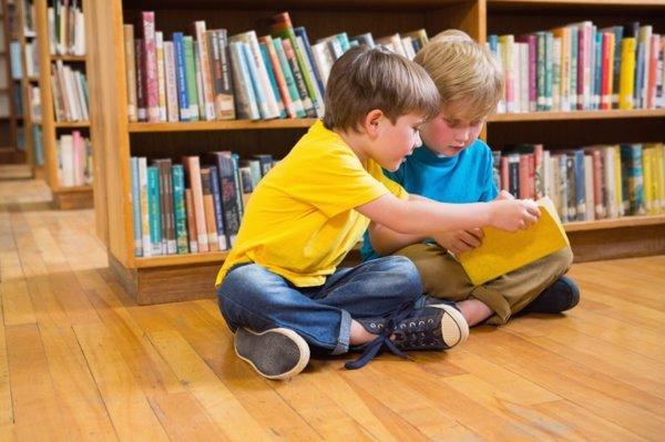 La biblioteca para los niños