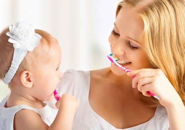 El cuidado de los dientes del bebé