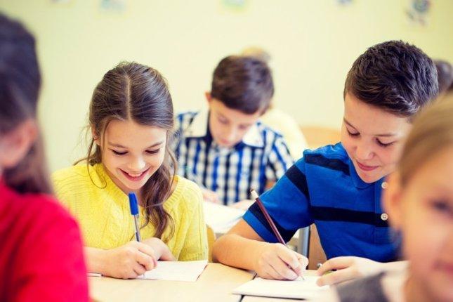 Examen, prueba final, evaluación, primaria, colegio, clase