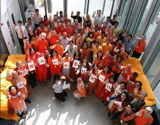 Campaña Pinta el mundo de naranja