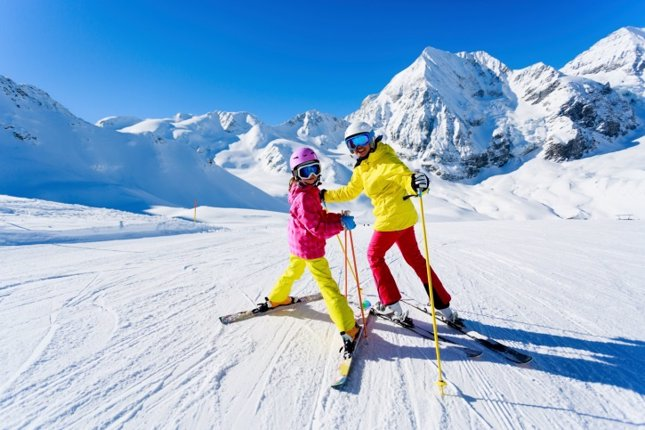 El esquí segun la edad de los niños
