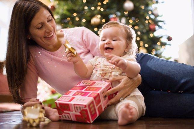 Tu primera Navidad como madre