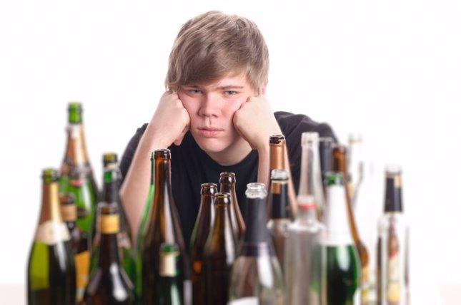 El padre el alcohólico de la consecuencia