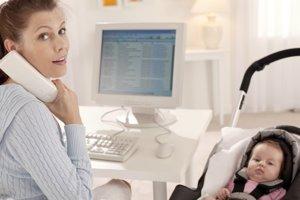 Bebés y madres trabajadoras