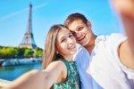 Selfies, el 72% se publica en redes sociales (THINKSTOCK)