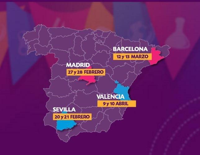 La Feria de los Colegios se extiende por España